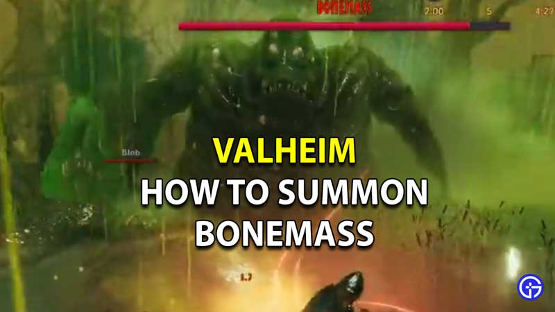 valheim bonemass boss summon