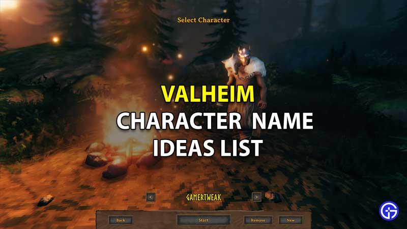 valheim character name ideas
