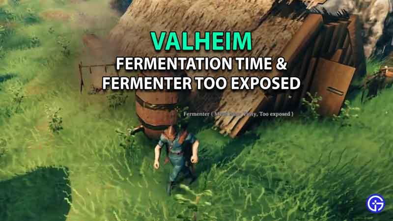 valheim fermentation time and Valheim Fermenter Too Exposed