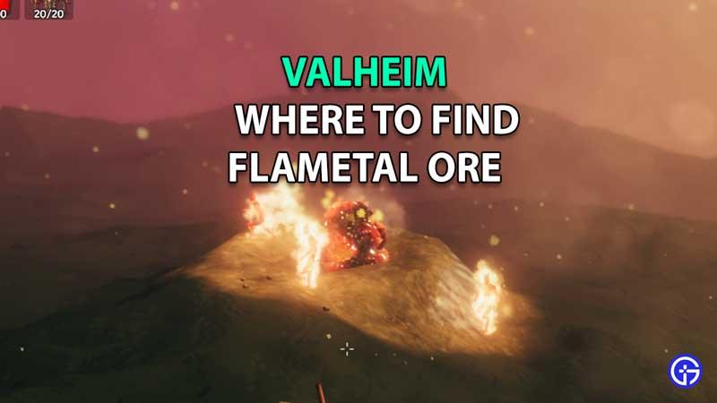 valheim flametal ore