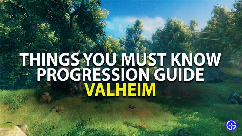valheim progression guide