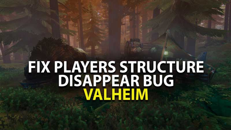 Players Buildings Disappear Valheim