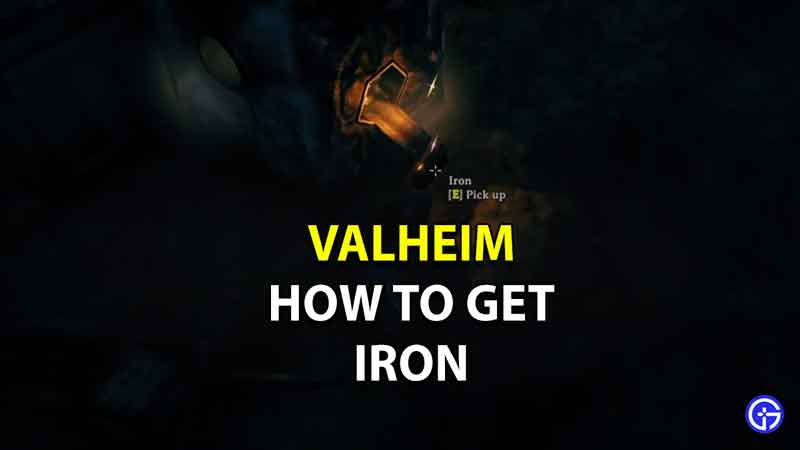 where to find iron valheim
