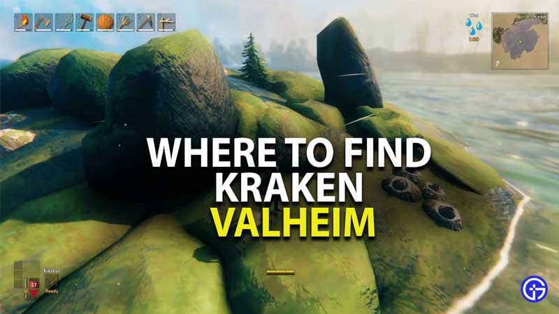 where to find kraken in valheim