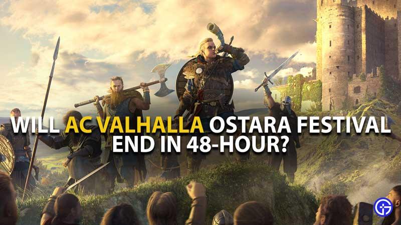 AC Valhalla Ostara Festival 48 hour End Guide
