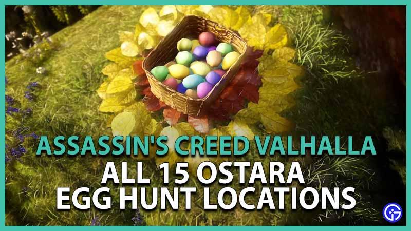 AC Valhalla Ostara Festival Find Riddle Solution Easter Egg Hunt Locations