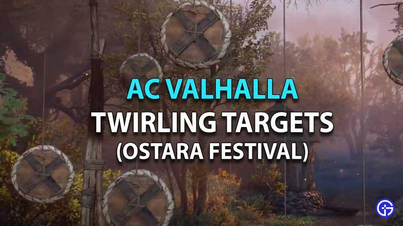 AC Valhalla Ostara Festival Twirling Targets Guide
