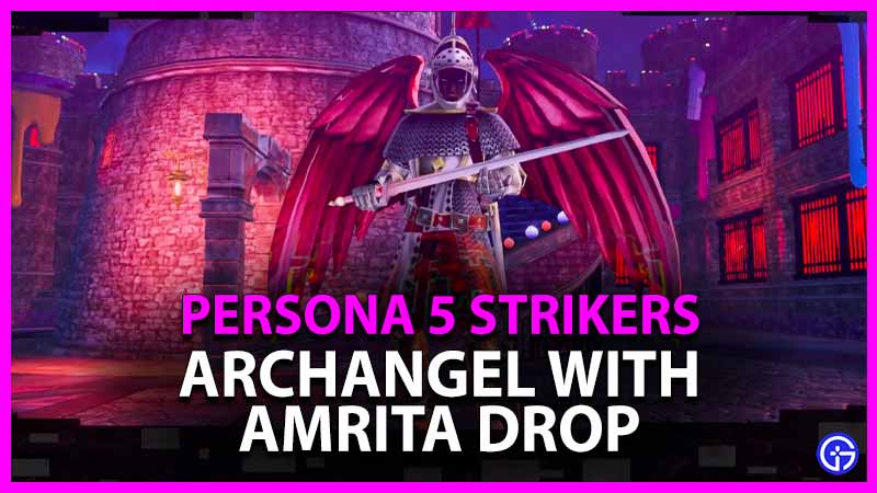 ARCHANGEL WITH AMRITA DROP