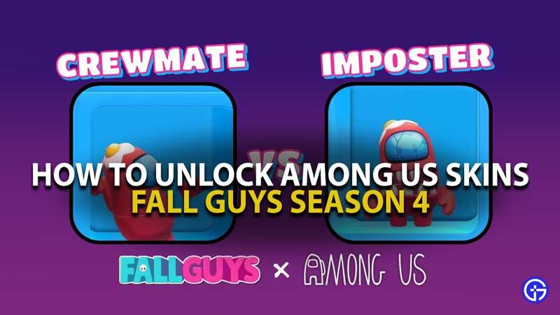 Among Us Fall Guys Skins