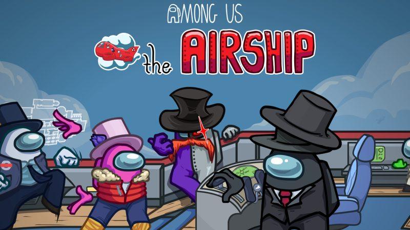 Among Us New Airship Map