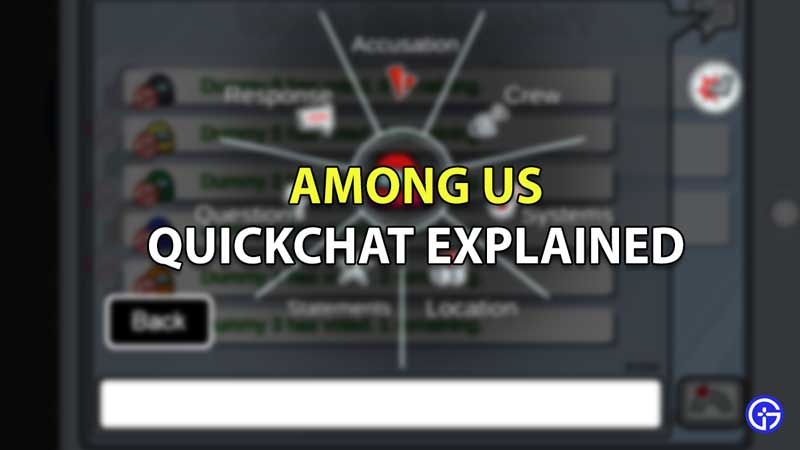 among us quick chat update