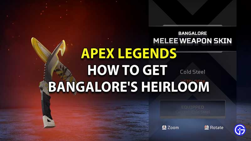 Apex Legends: How To Get Bangalore's Heirloom