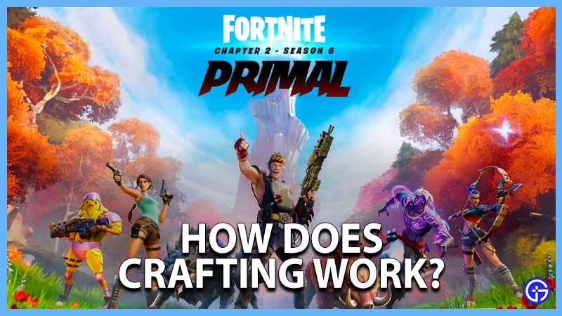 Craft Fortnite