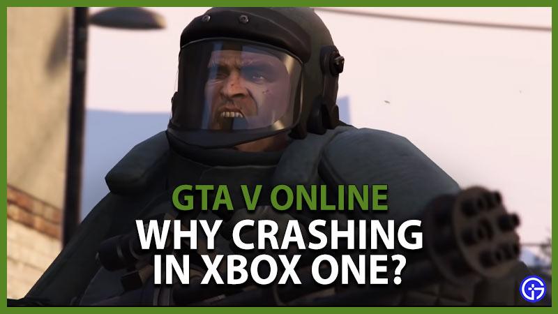 GTA Crashing Xbox One