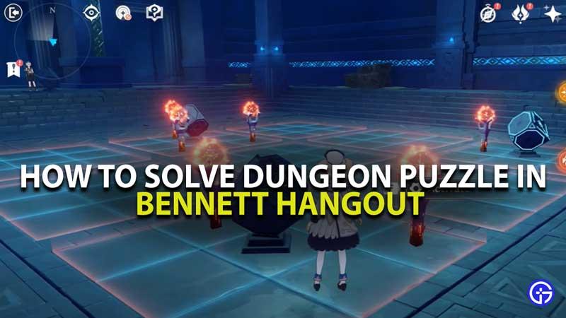 Genshin Impact Bennett Hangout Event