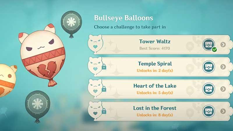 genshin impact bullseye balloons