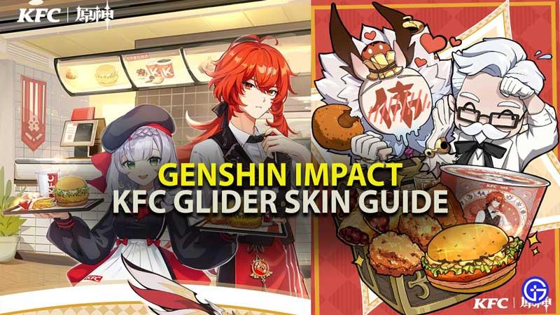 Genshin Impact KFC Glider Skin