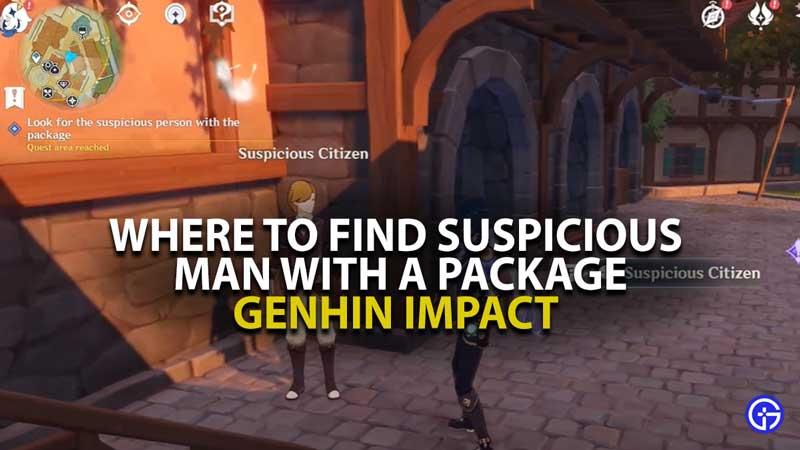 Genshin Impact Suspicous Man Location Guide