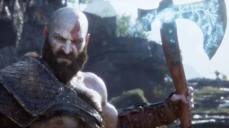 God of War Viking
