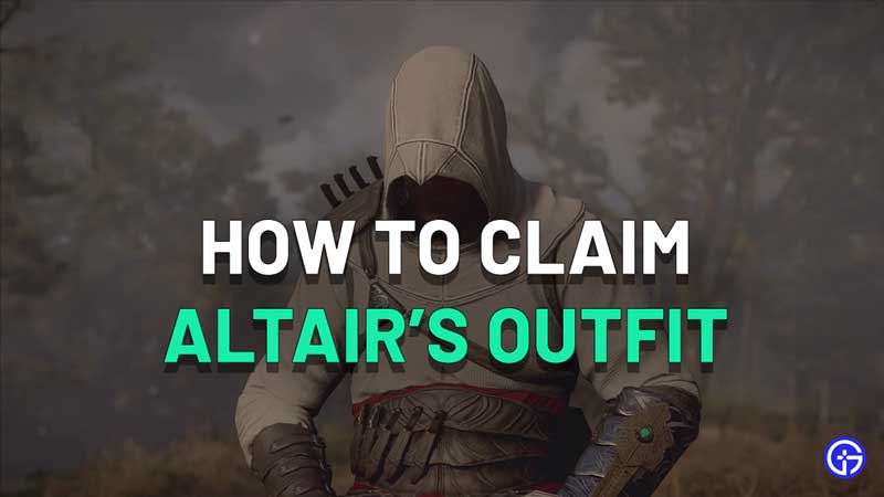Altair Outfit In AC Valhalla