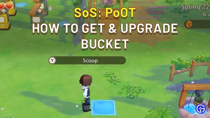 How To Get Bucket In Story Of Seasons Pioneers Of Olive Town