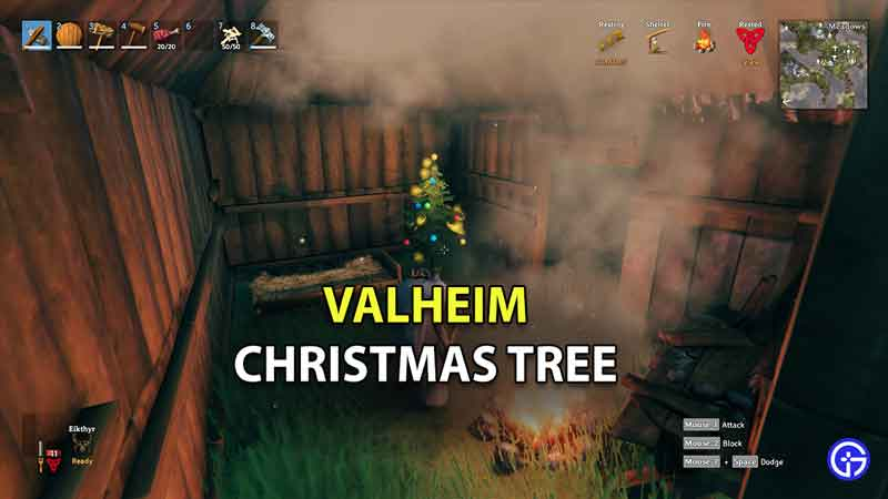 How To Get Christmas Tree In Valheim