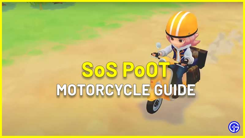 How To Get Motorcycle In Story of Seasons Pioneers of Olive Town