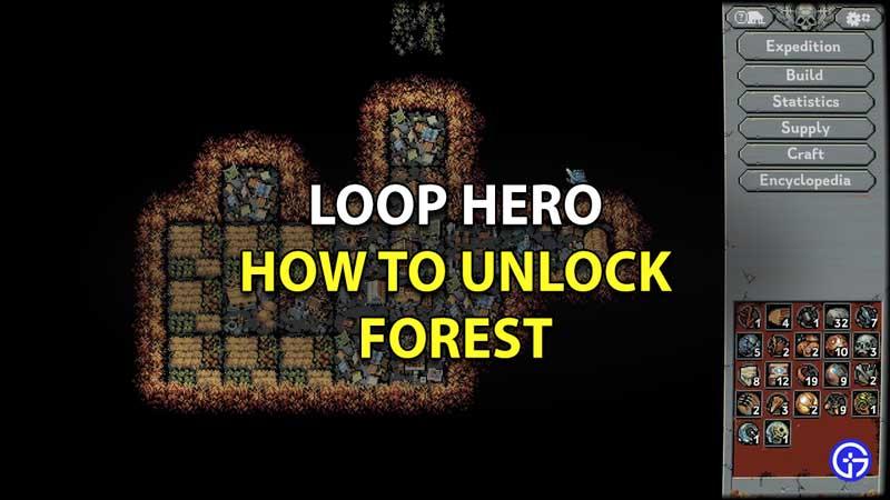 How To Unlock Forest In Loop Hero