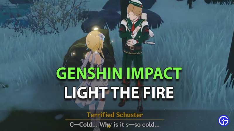 Genshin Impact Light The Fire Flavor of the Month