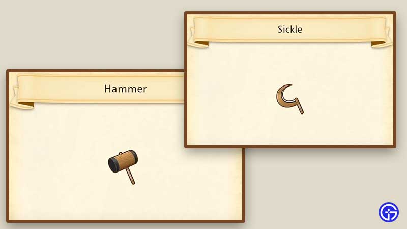 how to equip tools Story of Seasons: Pioneers of Olive Town