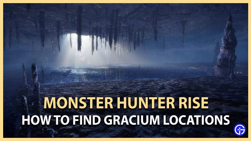 How to Get and Find Gracium Locations in Monster Hunter Rise (MH Rise)