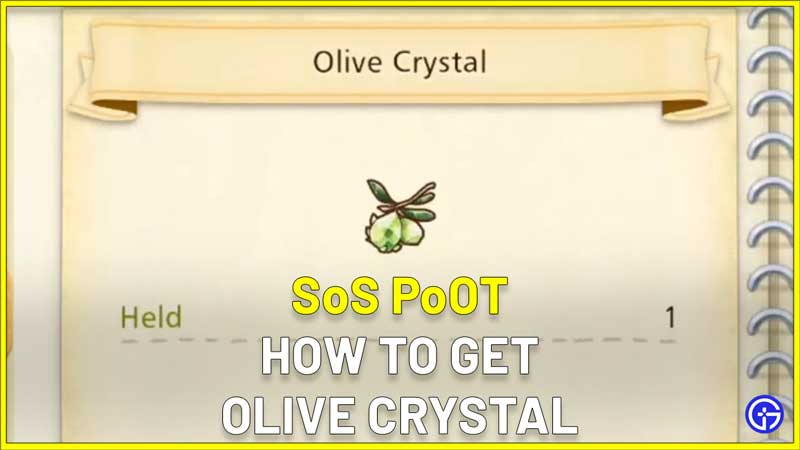 How To Use Olive Crystal SoS PoOT