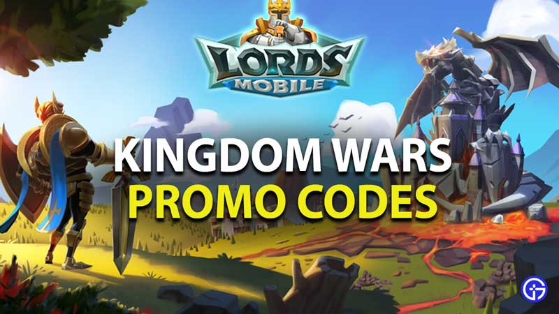 Lords Mobile Kingdom Wars Promo Codes