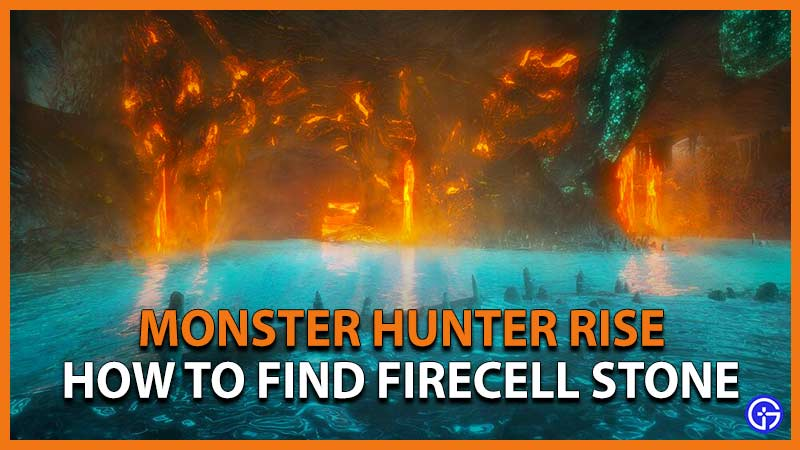 MH Rise Firecell Stone