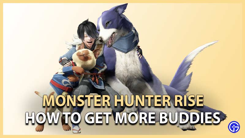 MH Rise Get More Buddies