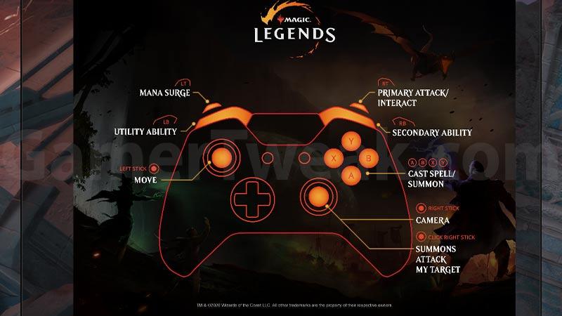 Magic Legends Controller