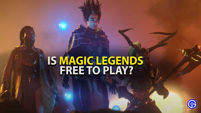 Magic Legends Free To Play