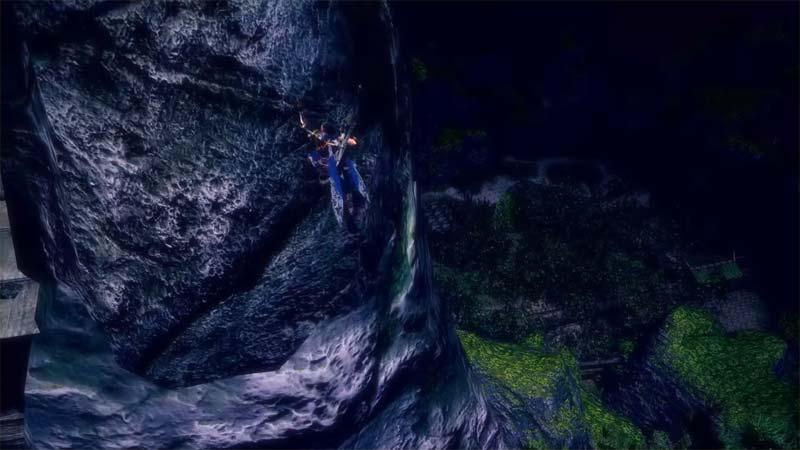 Monster Hunter Climb Walls