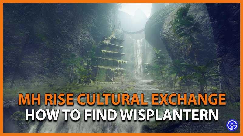 Monster Hunter Rise Cultural Exchange Wisplantern