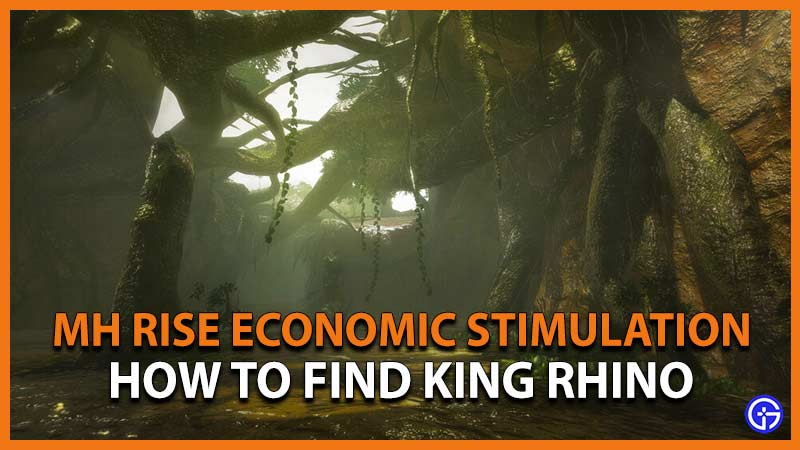Monster Hunter Rise Economic Stimulation King Rhino