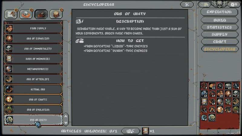 Orbs of Unity Loop Hero