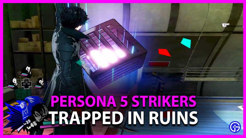 Persona 5 Strikers Trapped in Ruins