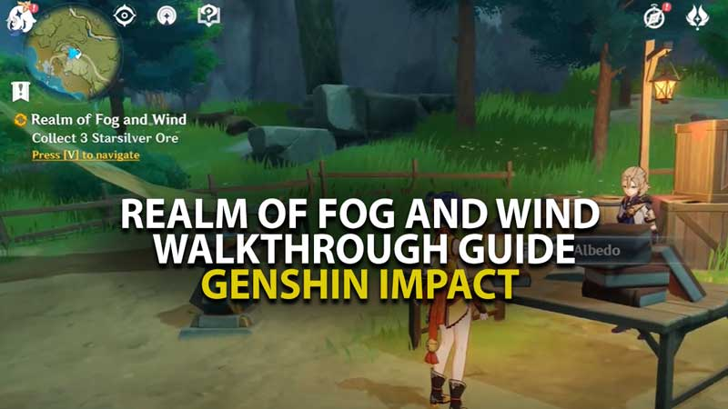 Genshin Impact Realm Of Fog and Wind
