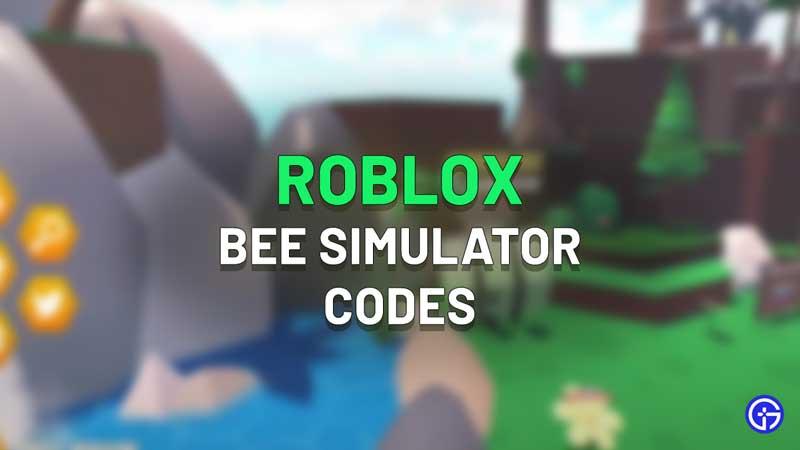 Roblox Bee Simulator Codes