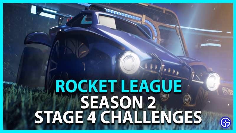 Rocket League stage 4