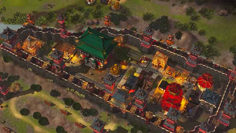 Rotate Buildings Stronghold Warlords