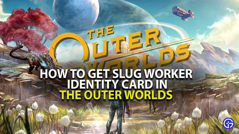Slug Worker Identity Card Guide