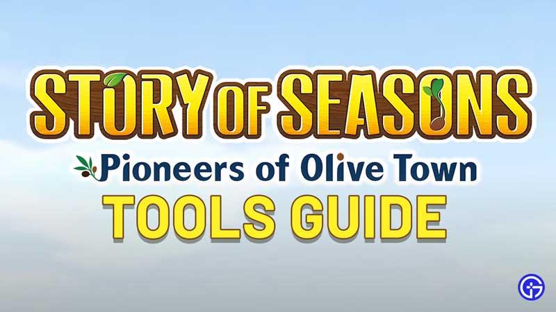 Story of Seasons: Pioneers of Olive Town Tools Guide
