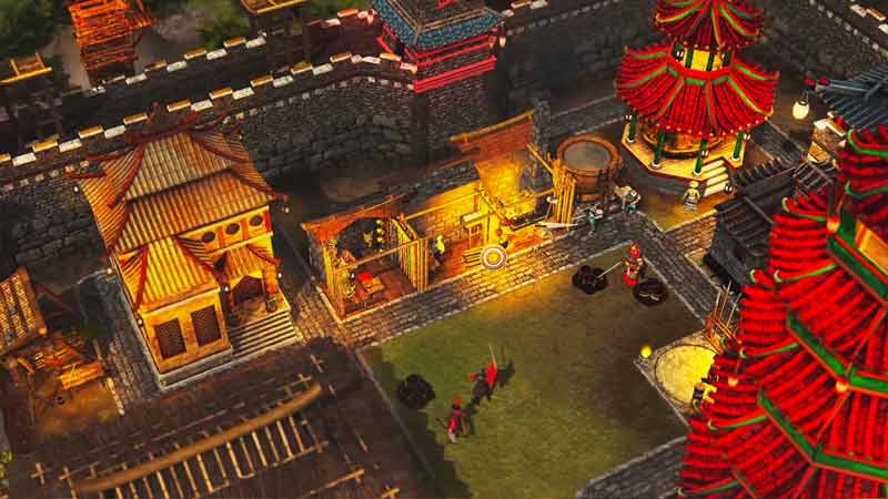Stronghold Warlords Manage popularity