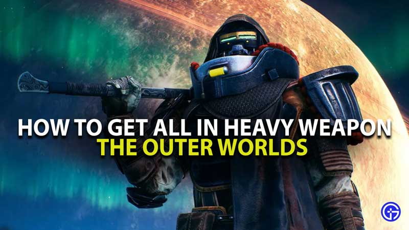 The Outer Worlds ALl In Guide